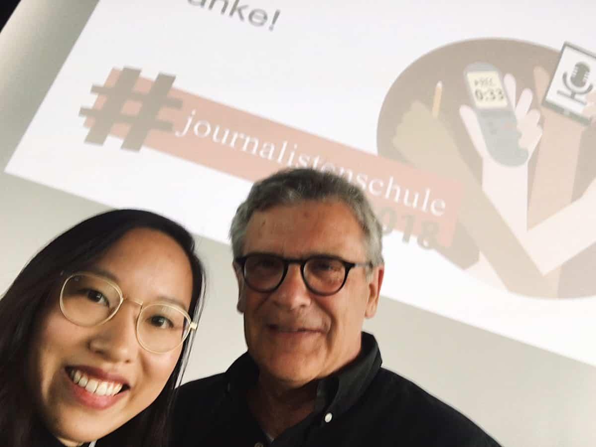 Fuente grueso Cortar  Vanessa Vu und Wolfgang Aigner in Bayern: Zwei Journalisten-Generationen –  #journalistenschule